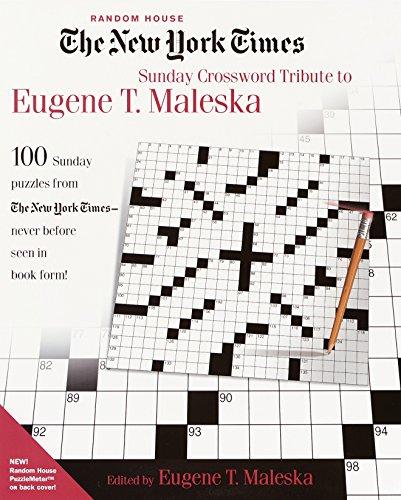 The New York Times Sunday Crossword Tribute to Eugene T. Maleska