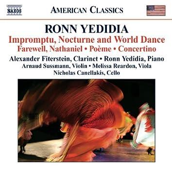 Yedidia: Impromptu, Nocturne and World Dance