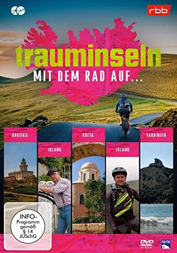 Trauminseln - mit dem Rad auf Korsika, ... Irland, ... Kreta, ...Island, ...Sardinien [2 DVDs]