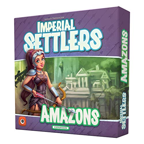 Portal Games Imperial Settlers Amazons, Multi-Colored