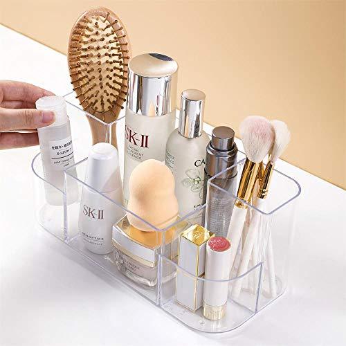 N\C Acrílico cosmético caja de almacenamiento maquillaje organizador crema/loción titular caja de joyería pendientes collar caja de labios soporte caja de la vanidad