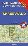 Wasserwanderkarte Spreewald (Kanu kompakt)