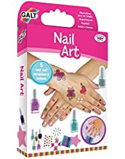 Galt Toys, Nail Art, Craft Kits for Kids, Ages 7+, Multi-colored