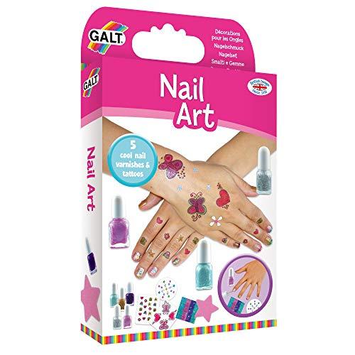 Galt America Kit di Smalti e Gemme per Nail Art