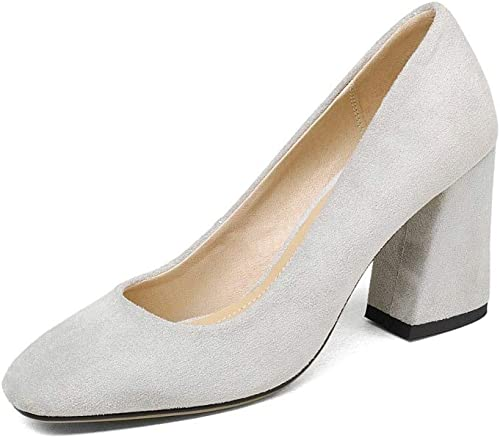 MENGLTX Talon Aiguille Talons Hauts Sandales Fashion chaussures femmes Basic Office Lady Dress chaussures Pointed Toe Faux Spring Summer talons hauts Pumps chaussures