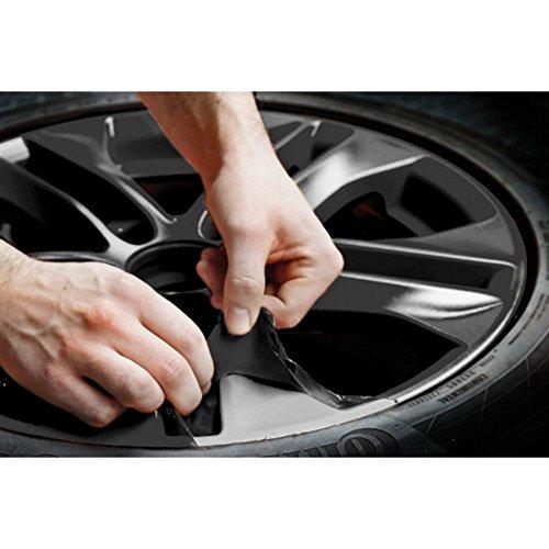 Ricambi Auto Europa K2 Rimovibile Vernice Pellicola Bombolette Spray (Nero Lucido) + 1 Adesivo da pc Gratis …