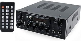 Festnight KS33BT Reproductor de Audio Digital BT Amplificador de Potencia Pantalla LCD Amplificador BT Amplificador Altavo...