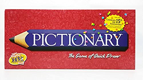 Pictionary, 15th Anniversary Edition with Special  Challenge Die  (2000)