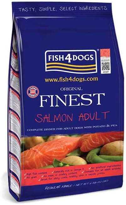 Fish4Dogs Fish4Dogs Canine Adult Small Salmon 6 Kg 6000 g