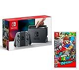 Nintendo Switch Consola 32Gb Gris + Super Mario Odyssey