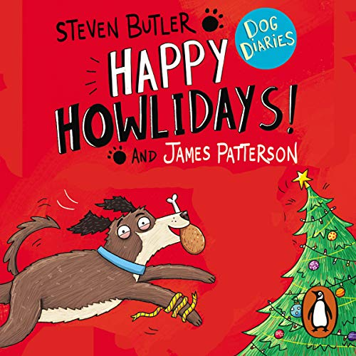 Dog Diaries: Happy Howlidays! audiobook cover art