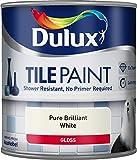 Dulux Tile Paint Pure Brilliant White - 600ml