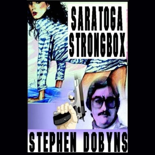 Saratoga Strongbox audiobook cover art