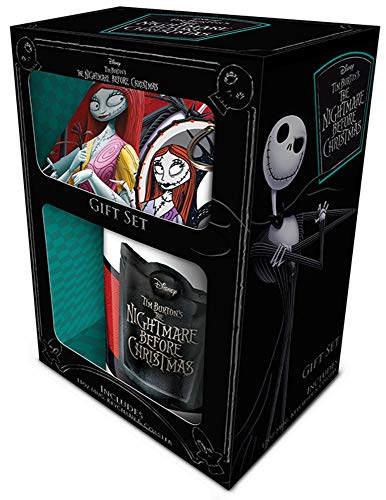 empireposter Nightmare Before Christmas - Jack & Sally - Limited Edition Gift Box Geschenkset Fanartikel