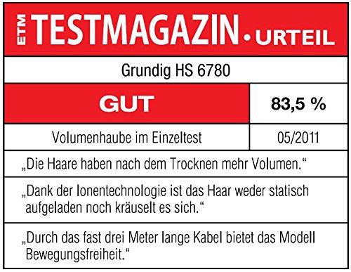 Grundig HS 6780 - Secador de casco para uso casero con tecnología iónica...