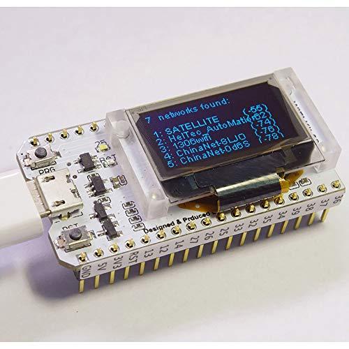 TOP-MAX ESP32 Modulo WiFi Scheda di Sviluppo WIFI Kit 32 Basso Consumo energetico 240 MHZ Dual Core con CP2012 Chip 0.96 'Display