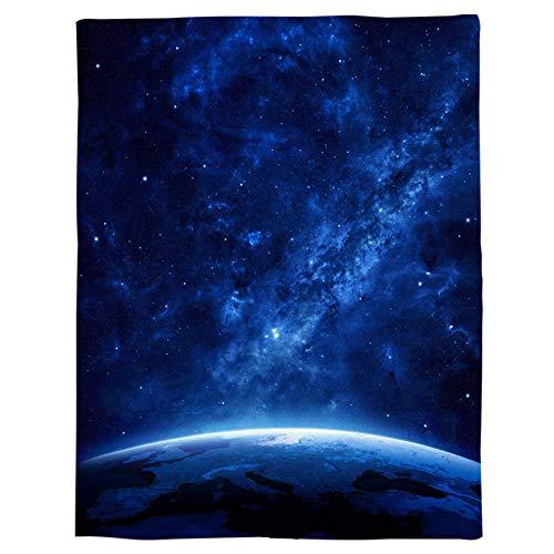 SHHSGZ Bambini Flanella Coperta Spazio Universo interstellare per Letto e Divano Coperta Morbida Copertina Lenzuola Snug rug Gettare Copriletti Plaid Microfibra Anti Fade-S (120X150CM)