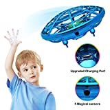 Hand Operated Drone for Kids Adults - Mini Drone for Kids Flying Ball Drone with 5 Upgraded Interactive Sensors 360 Degree Rotating Indoor Drone for Kids UFO Toy Drone for Boys and Girls