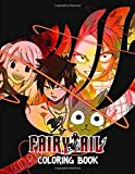 Fairy Tail Coloring Book: Japanese Anime Manga Coloring Books
