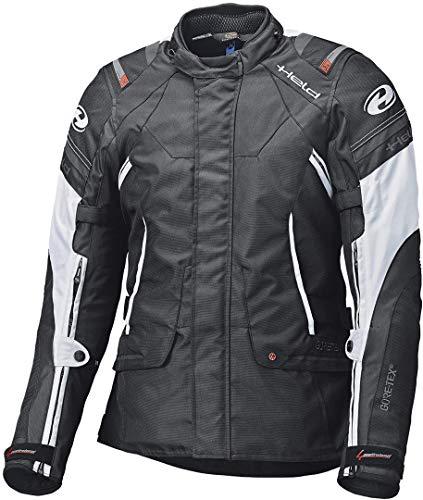Held Motorradjacke mit Protektoren Motorrad Jacke Molto Textiljacke GTX schwarz/weiß XL, Herren, Tourer, Ganzjährig