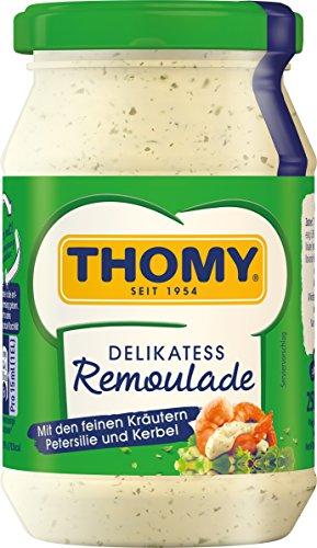 THOMY Remoulade, mit Kräutern, 6 x 250 ml Glas