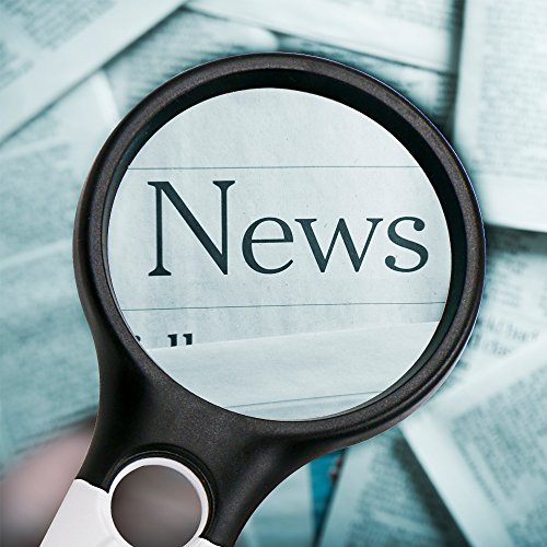 Leselupe 3X 45X Lupe mit 3 LED Licht, Thinkcase Handlupe Vergrößrungglas Lesevergrößerungsglas für Senioren, Lesen, Inspektion, Hobby, Handwerk, Uhrmacher , Münzen, Briefmarken, Antiquitäten, Objektiv Schmuck Lupe Weiß und Schwarz - 5