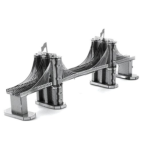 Metal Earth - Maqueta metálica Puente de Brooklyn , color/
