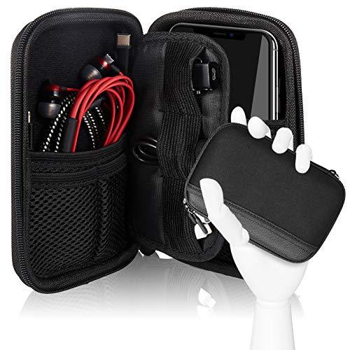 Cheelom Organizador Portátil, Bolsa para Accesorios Electrónicos, para Viajes, Impermeable, Funda Portable para Discos Duros, Cables...