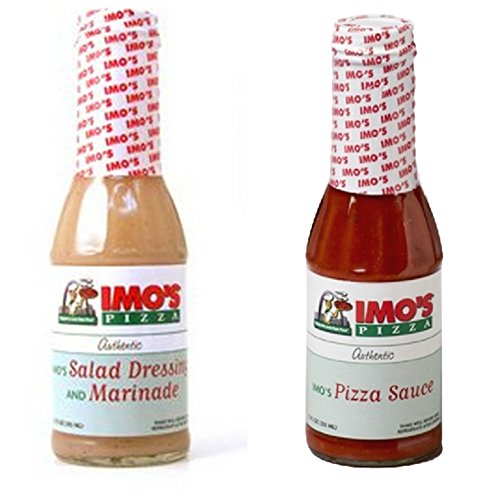 Imo's Pizza Sauce & Dressing Bundle, Includes Authentic Imo's Italian Salad...