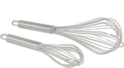 9Colors Stainless Steel Kitchen Whisk, Balloon Wire Whisk, Egg Frother, Milk Beater, Kitchen Utensil for Blending Whisking Beating Stirring
