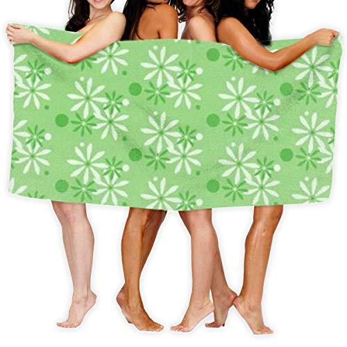 Toallas Shower Towels Bathroom Towels Flover Vector Toalla De Baño Suave Ligera Para Baño Piscina Yoga Pilates Picnic Manta Toallas Beach Towels 80X130CM