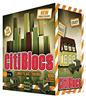 CitiBlocs 100-Piece Camo-Colored Building Blocks by CitiBlocs [並行輸入品]