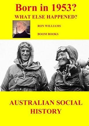 BORN IN 1953? 60th BIRTHDAY (BORN IN 19XX?) by Ron Williams (2013-04-13)