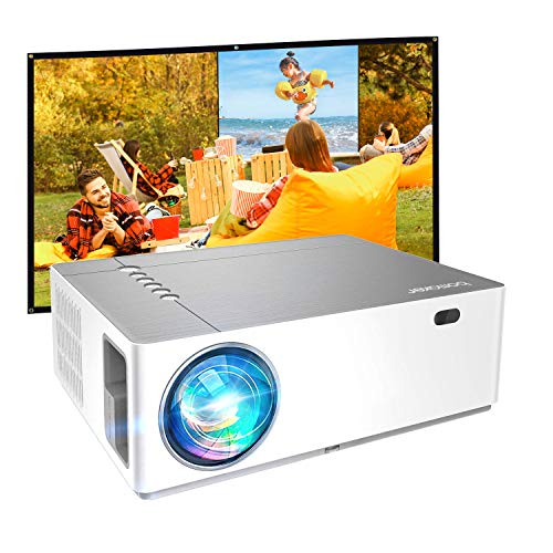 Outdoor Projector, BOMAKER Native 1080p Full HD Projector for Outdoor Movies, 7200 Lux, 5D ±50° X/Y Keystone, ±50% Zoom Out, 300'' Screen, 9000:1, Compatible with TV Stick, Android, iPhone, HDMI, PCs