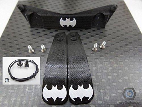 Set: Playstation PS4 - Paddle Mod Kit DIY, Paddles, Taster, Halterung etc (Batman)