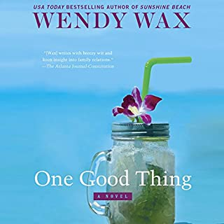 One Good Thing audiobook cover art