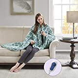 Beautyrest Plush Electric Throw Blanket – Secure Comfort Technology-Oversized 60