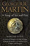 A Game of Thrones: The Story Continues Books 1-5: A Game of Thrones, A Clash of Kings, A Storm of...