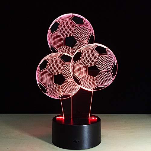Lámpara de noche 3D para bebé, lámpara 3d, Mini luces LED con...