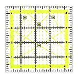 Kuppt Univeral Quilten Lineal, 11.5 * 11.5cm Nähen Lineal, Patchwork Lineal, Schneider Lineal,...