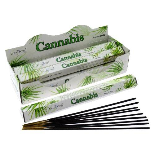 Stamford Incenso Cannabis (20 Bastoncini x 6 Confezioni)