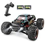 HAIBOXING RC Cars 1:16 Scale 4WD Race Truck 36+KM/H High Speed 16889, 2.4 GHz All-Terrain Waterproof Remote Controlled Car,Offroad RTR Electric Radio Controlled Trucks with 2 Battery,Gifts for Adults