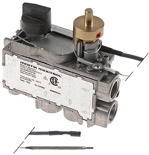 MERTIK GV30T-C3A7A2K0-012 Gasthermostat für Electrolux 200201, 200224, 220224, 210201, 210224 max. Temperatur 340°C 100-340°C
