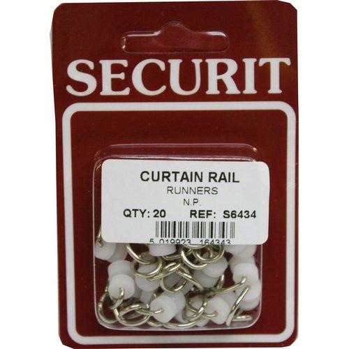 Securit gordijn rail loper npx20 s6434