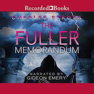 The Fuller Memorandum audiobook cover art