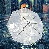 Paraguas de lluvia ligero automático plegable de moda actividades multiusos al aire libre para días de lluvia