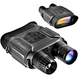 Digital Night Vision Binoculars for Complete Darkness with 1300 ft Viewing Range 4' Large Screen Night Vision Goggles with 32G TF Card and Photos Videos Recorder Playback Function for Hunting (NV400B)