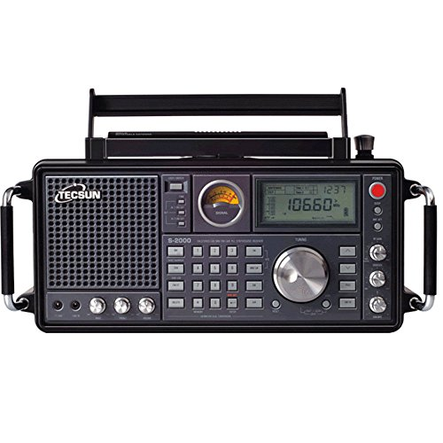 TECSUN S-2000 HAM Amateur Radio SSB Dual Conversion PLL FM/MW/SW/LW Air Band (S-2000)