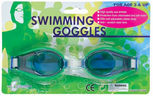 WDK Partner - A1100213 - Jeu de Plein Air - Lunettes de natation adulte - Coloris aléatoire
