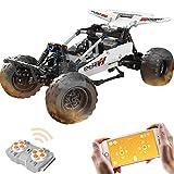 HYZM Technik Dune Buggy, bloques de construcción, 2,4 G, mando a distancia, todoterreno, con motores, compatible con Lego Technic, 394 unidades